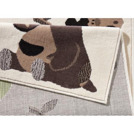 Kusový koberec Bambini 102788 Grün Braun 140x200 cm - DOPRAVA ZDARMA
