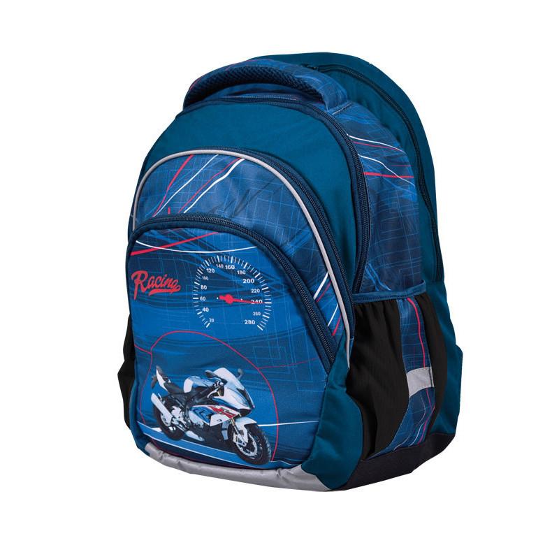 Stil Anatomický školní batoh pro kluky Junior Speed Racing - Kids ... ec02aa8413