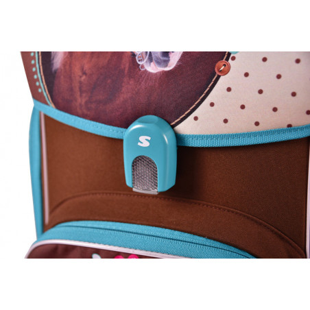 Školní aktovka pro prvňáčka Sweet Horse + box na svačinu zdarma