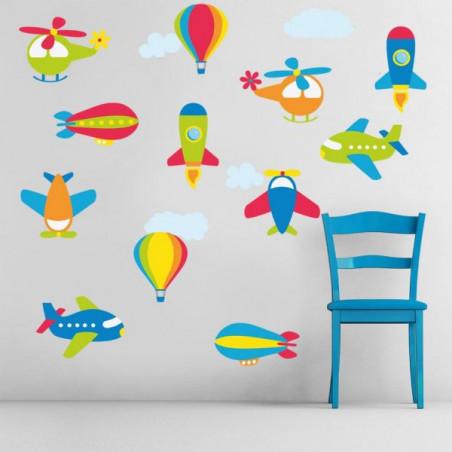 Letadla a vzducholodě
