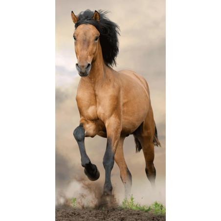 Osuška Horse brown 70x140 cm