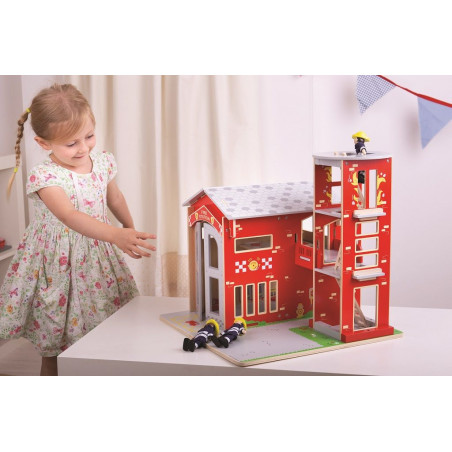 Bigjigs Toys Hasičská stanice