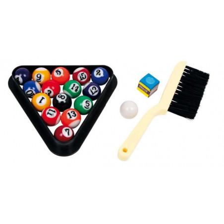 Dřevěné hry - Stolní kulečník mini