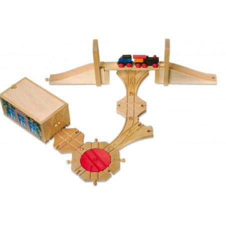 Small Foot Dřevěné hračky - vláčkodráha - Příslušenství vláčkodráh