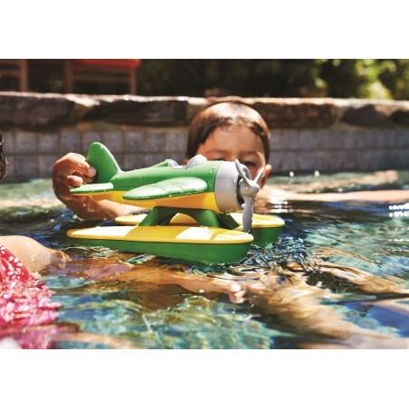 Green Toys - Hydroplán žlutý